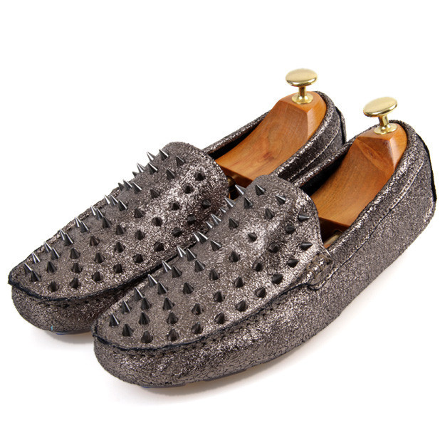 mens spiked shoes