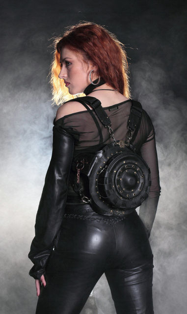 Steampunk Retro Rock Gothic Backpack
