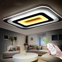 Moderne Led-deckenleuchten Für Innenbeleuchtung plafon führte Quadratische Deckenleuchte Leuchte Für Wohnzimmer Schlafzimmer Lamparas De Techo(China (Mainland))