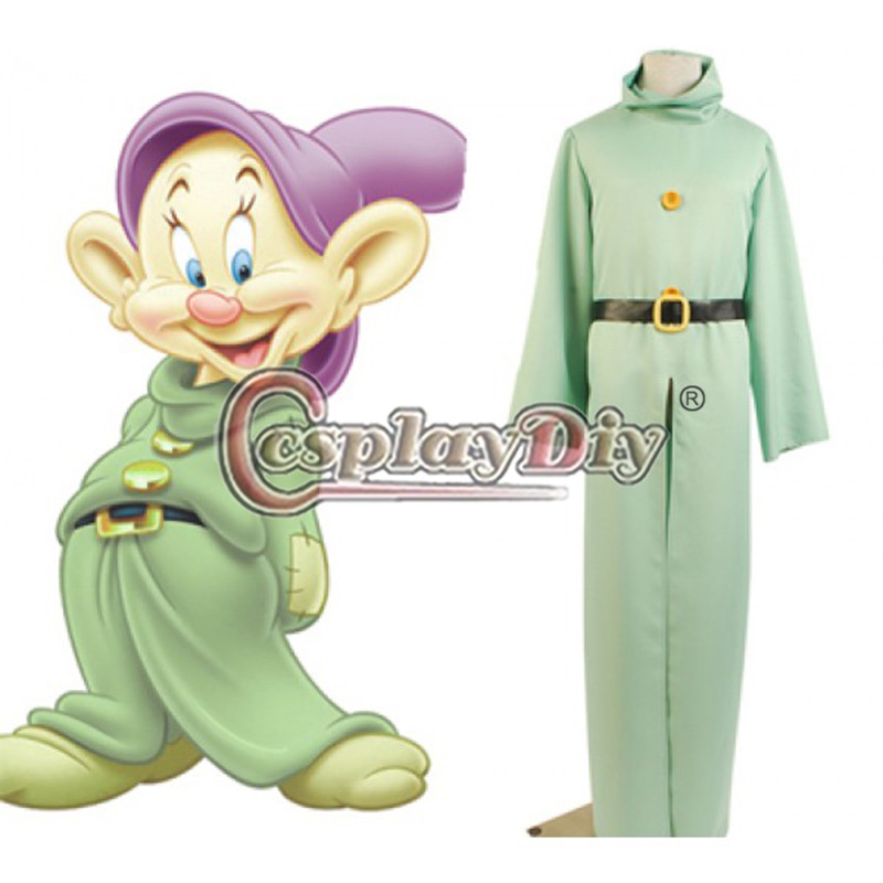 Custom Made Snow White and the Seven Dwarfs Clothes Fancy Dress Adult Halloween Cosplay Costume D0528Одежда и ак�е��уары<br><br><br>Aliexpress