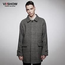 New 2016 Mens Designer Clothing British Style Trench Coat Winter Autumn Wool Jacket Windbreaker Men Overcoat Casacos(China (Mainland))