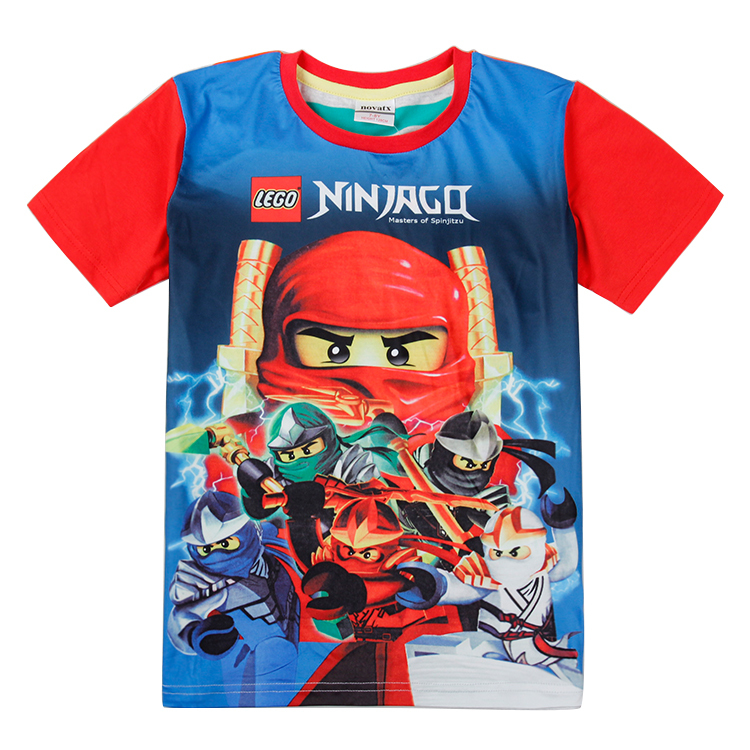 Boys clothing lego star wars for boy 2015 new fashion high quality summer tops short sleeve