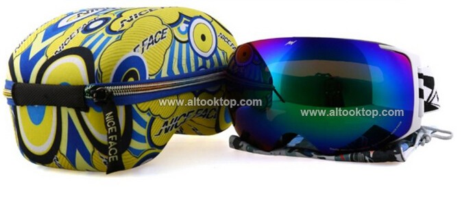 Скидки на День и ночь видение сменные 2 линзы лыжные очки сферические профессиональные сноуборд очки лыжные очки снегоход лыжный googles