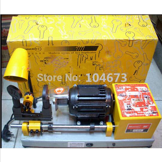 JZ-9EWS automatic horizontal Key Duplicating machine Door Lock Key Cutting Machine Locksmith Equipment free shipping(China (Mainland))