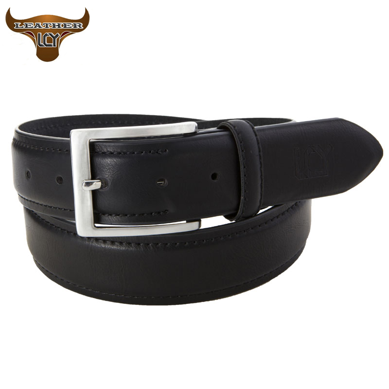 lcy mens belts luxury cow genuine leather belts for
