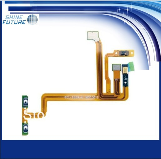 Replacement Power Volume Button Flex Cable for ipod touch 5 5th(China (Mainland))