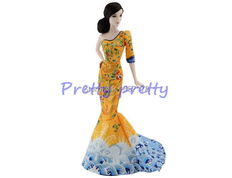 FREE SHIPPING 2015 Original Genuine Brand Doll BCP97 Celebrity Bingbing for Barbie Doll child Toys Model New Year Gift(China (Mainland))
