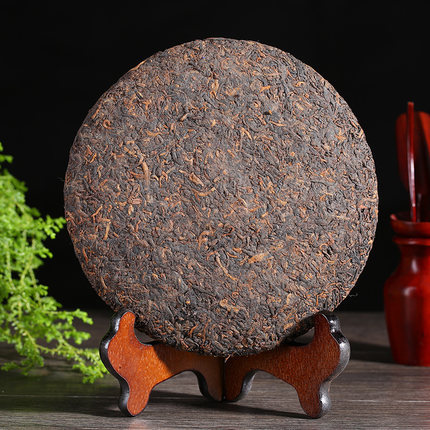 Made in1975 ripe pu er tea 357g oldest puer tea ansestor antique honey sweet dull red