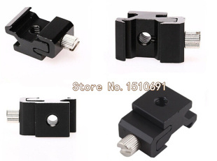 Wholesale 10pcs Brand New Camera Hot Shoe Flash Stand Adapter Mount With 1/4 Tripod Screw<br><br>Aliexpress