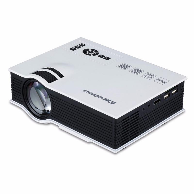 Гаджет  Excelvan UC40 Portable Mini LED Projector Home Cinema Theater Multimedia LED Video Projector PC Laptop VGA USB SD AV HDMI None Бытовая электроника