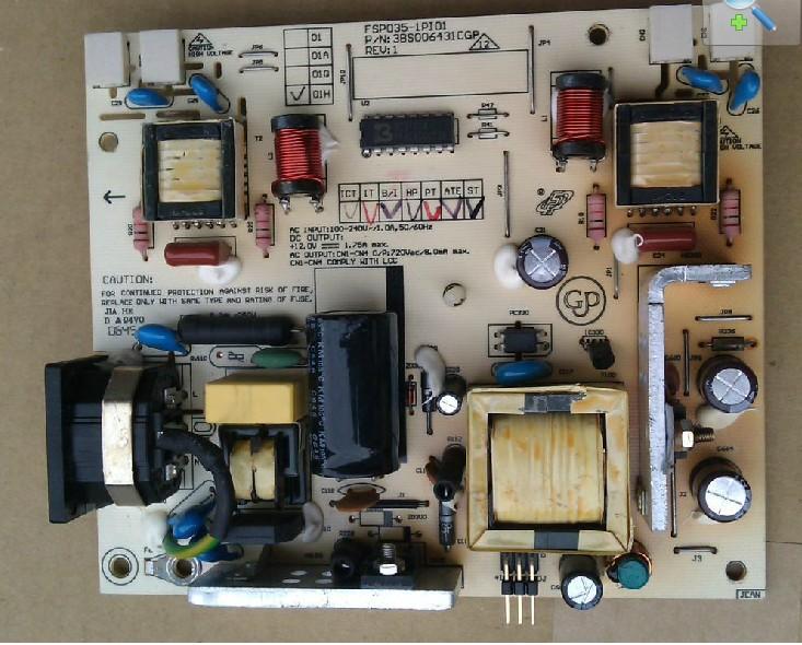 Viewsonic fsp035-1pi01 vx724