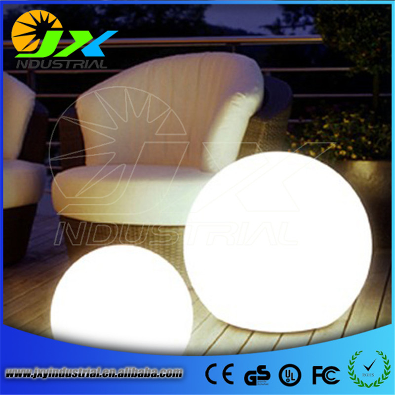 White plastic range color waterproof outdoor pool floating led balls led ball waterproof(China (Mainland))
