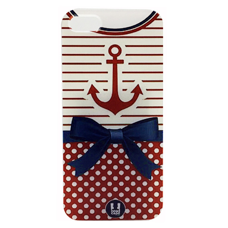 Cover Apple iphone 4/4s 5/5s 5c 6 4.7 inch plus Protective Hard Plastic Cases Pictures Rosette Pink Anchors Painting - UI-International store