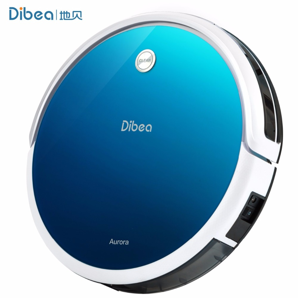 Dibea GT100 Aurora Robotic Vacuum Cleaner for Home Gyroscope Aspirador Cleaner Wet/Dry Mopping with 10Kpa Suction Vacuum(China (Mainland))