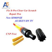 10 PCS / LOT Car Fix It Pro Clear Car Scratch Pen SIMONIZ Car Repair Pen Clear Coat Applicator AS SEEN ON TV Car Scratch Remover(China (Mainland))