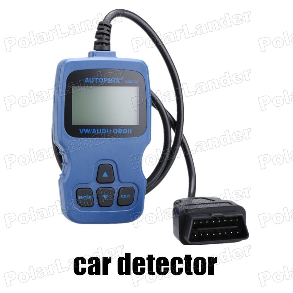 CE proved car scanner tool EOBD/OBD2 VAG007 for Volkswagen/ for AUDI/ for SEAT/ for SKODA Brake pad reset Oil reset