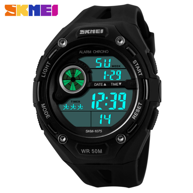 Outdoor Sports Watches Mens LED Digital Watch Military Men Sports Watches Luminous Digital Men Wristwatches Relogios Masculinos<br><br>Aliexpress