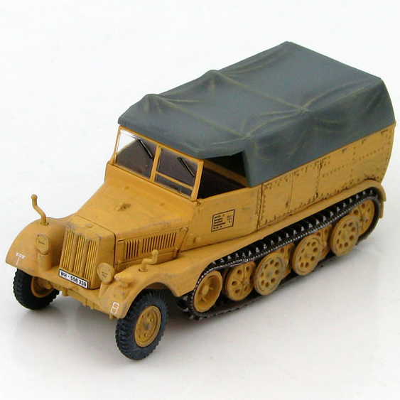 HM 1/72 World War II Germany HG5105 Sd.Kfz.11 Half-track armored vehicles model 21st Panzer 1944 Favorites Model(China (Mainland))