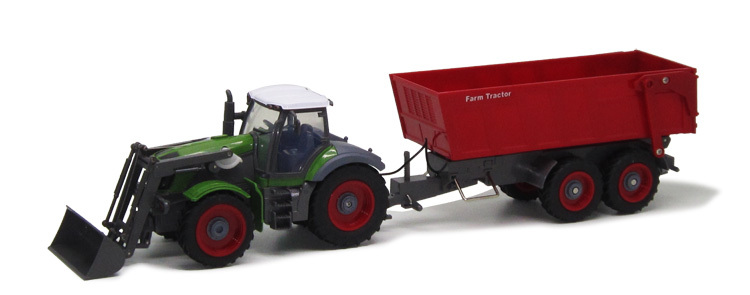 RC Truck RC Truck 1:28 Multifunctional RC trailer tractor truck RC truck farm toys(China (Mainland))