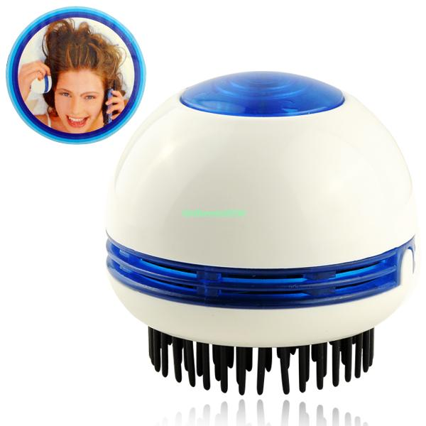 ELECTRIC SCALP MASSAGER HEAD HAIR CARE MASSAGE SHAMPOO COMB BRUSH VIBRATING BATH EG7067(China (Mainland))