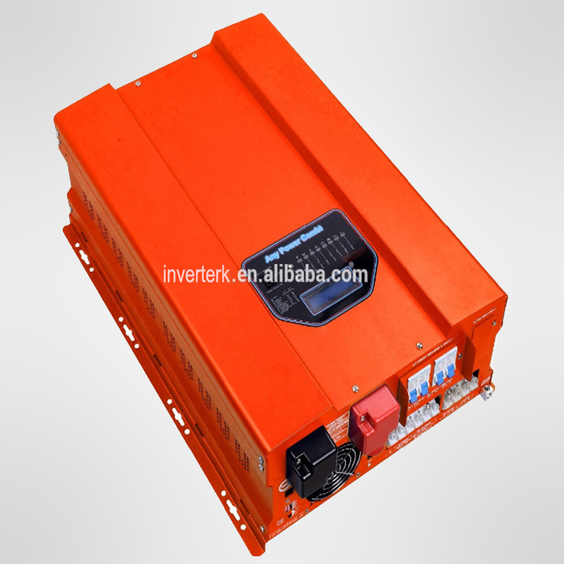 2015 Free Shipping 10KW Pure Sine Wave Inverter Supply Be Charged With MPPT Solar, Utility And Generator(China (Mainland))