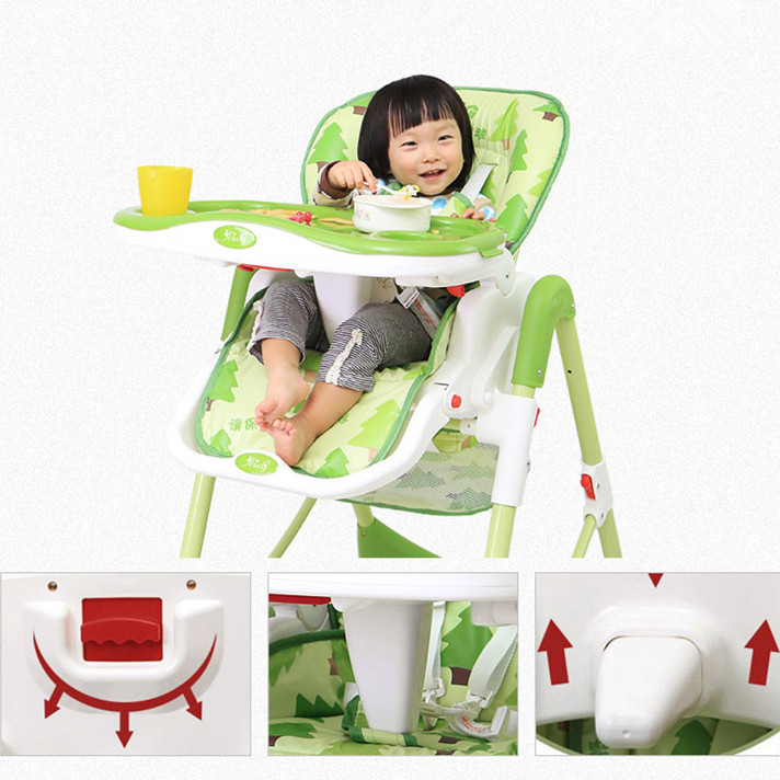 Hot Selling Folding Multi-function PVC Cotton Seat Cushion Baby Dinner Chair 5 Colors Available Baby Dining Table and Chairs(China (Mainland))