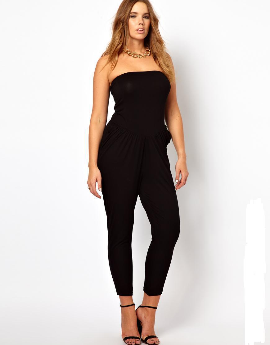 Creative Details About New Womens Superdry Strapless Jumpsuit Black