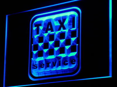 i976-b Taxi Service Cab Display Lure Decor Neon Light Sign(China (Mainland))