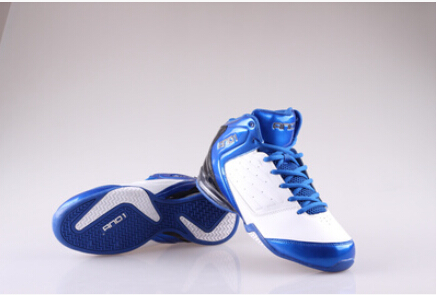 Free shipping 100% authentic basketball shoes AND1 outfield red and blue rubber cotton men's size 6.5 7 8 9.5 10 11 12(China (Mainland))
