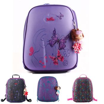 Новый высокое качество ортопедические водонепроницаемый детей школьного сумки девушки ...