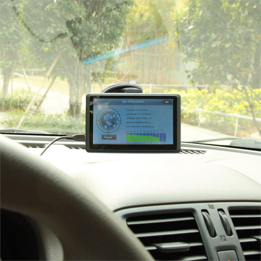 Car 7 inch gps navigation Touch Screen Built-in High Sensitivity GPS Navigation FM 8GB + Europe Map Support video music tk102b(China (Mainland))