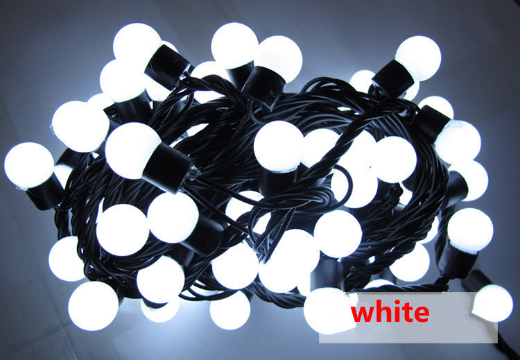 Christmas lights Wedding Decoration LED String Lighting 5M 50LEDs LED Ball string lights indoor outdoor decoration(China (Mainland))