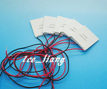 5PCS/LOT TEC1-12706  12706 TEC 5PCS Thermoelectric Cooler Peltier 12V New of semiconductor refrigeration  FREE shipping