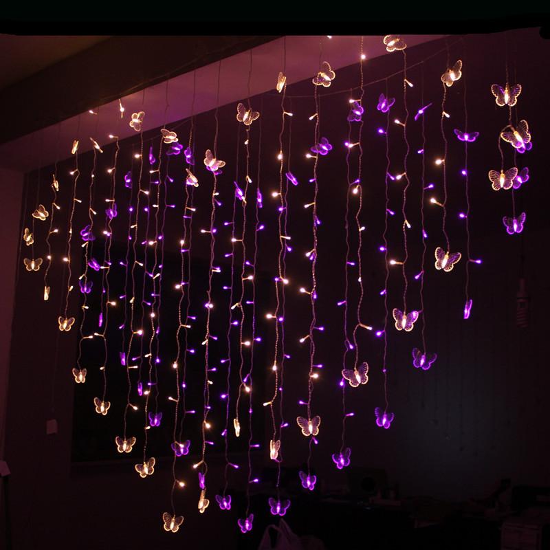 AC220V 2M Love Led String Light New Year Indoor Lighting Garland Star Modeling Led Luminarias ...
