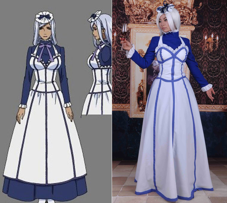 Black Butler Hannah Annafellows Dress Cosplay Costume Maid cosplay costumes+headwearОдежда и ак�е��уары<br><br><br>Aliexpress