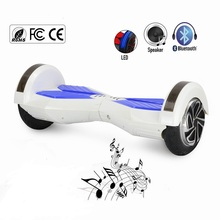 2016 Newest Model APP 8 inch Hoverboard Smart Self Balance Scooters with bluetooth speaker electric unicycle