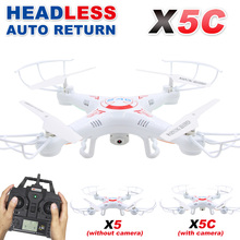X5C RC Drone with Camera 720P HD Remote Control Quadcopter Helicopter 2.4G 6-Axis Professional Dron / X5 Drones without camera