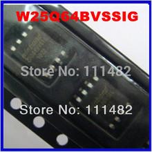 10pcs/lot w25q64Fvssig instead of w25q64Bvssig w25q64 25q64 SOP8 W25Q64BVSIG 64M-BIT Spi-FLASH(100% original(China (Mainland))