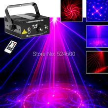 Новый 3 объектив 18 моделей рб красный синий лазерный кроссовер эффект проектор 3 Вт синий из светодиодов эффект смешивания DJ ктв лазерное шоу сценического освещения AZ18RB