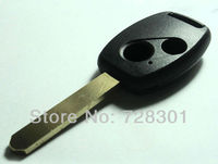 No Chip Empty Uncut Remote Key Shell Case Fit For Honda Accord CR-V Fit Pilot Civic 2 Buttons New Replacement Fob Free Shipping