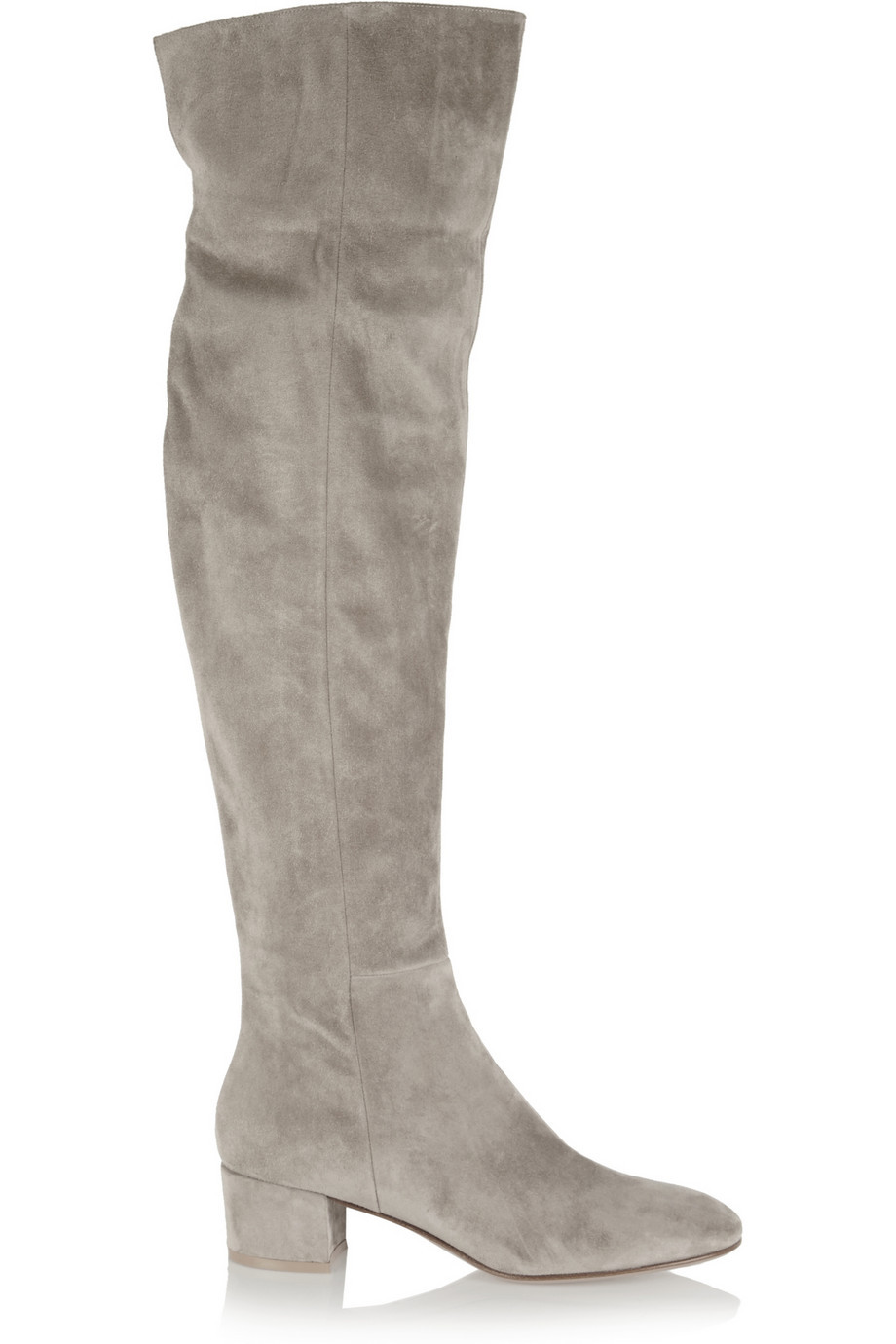 Grey Suede Womens Boots