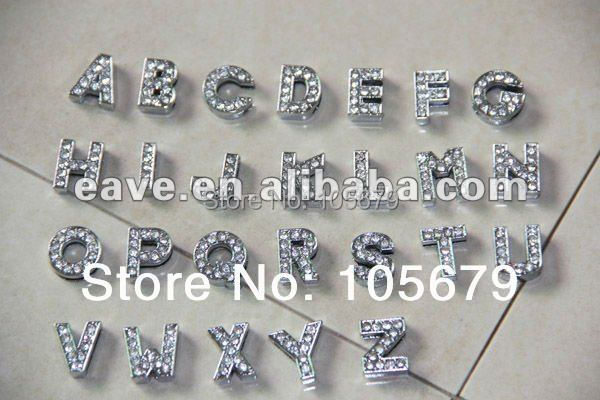 10 Mm Diy Letter White Reshine English Word Any Words You Choose