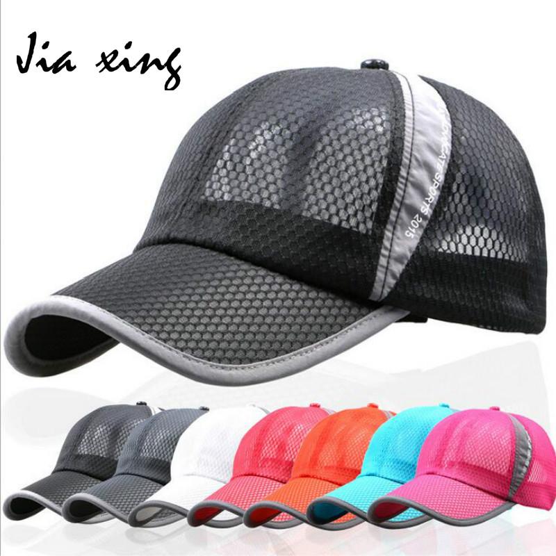 Summer Baseball Cap Hat Men 's Breathable Net Cap Outdoor Shade Sport Leisure Ladies Baseball Cap(China (Mainland))