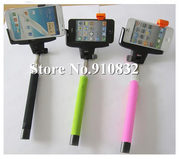1000pcs wireless bluetooth mobile phone monopod selfie stick handheld camera tripod holder for. Black Bedroom Furniture Sets. Home Design Ideas