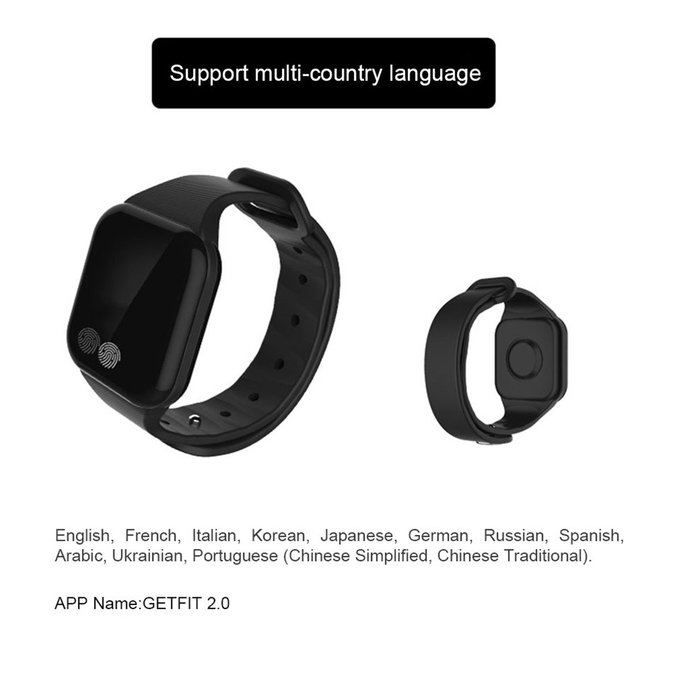 TTLIFE Climbing Smart Bracelets Watches Altitude Tracker Band Fitness Tracker Smart Wristband For Iphone Samsung Huawei Xiaomi