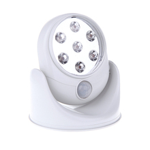 New Arrival LED Light Angel as Seen on TV Motion Activated Cordless Light Base Rotates 360 PIR Motion Sensor Night Spot Lamps(China (Mainland))