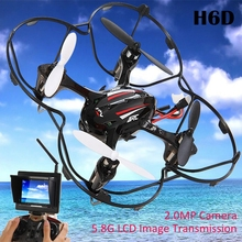 RC Dron JJRC H6D Helicopter 2.0MP HD Camera 5.8G FPV CF Mode RC Quadcopter RTF -Black