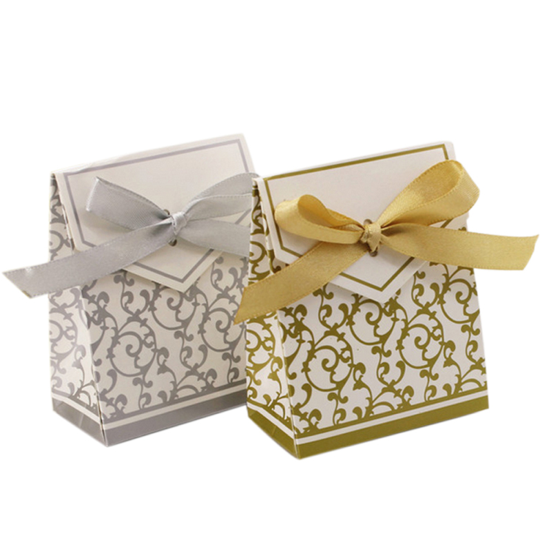 candy bag celebration Folding Carton Gift Fold Candy Package Christmas Wedding Box Personality Box Home party supplies A7(China (Mainland))