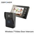 Video Door Phone 7 Video Intercom Wireless Doorbell with Camera Security IR Doorphone Monitor with Night
