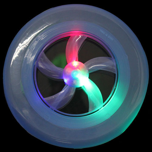 Arrow Colorful Spin LED Light Outdoor Toy Flying Saucer Disc Frisbee UFO Kid Toy lim(China (Mainland))